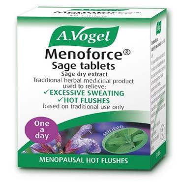 A VOGEL MENOFORCE SAGE TABLETS 30PK