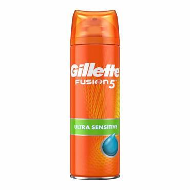 GILLETTE FUSION 5 SENSITIVE SHAVE GEL 200ML
