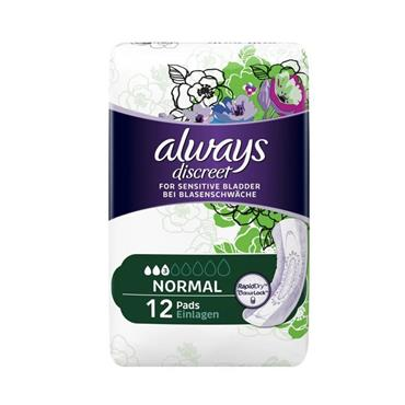 ALWAYS DISCREET PADS NORMAL SMALL