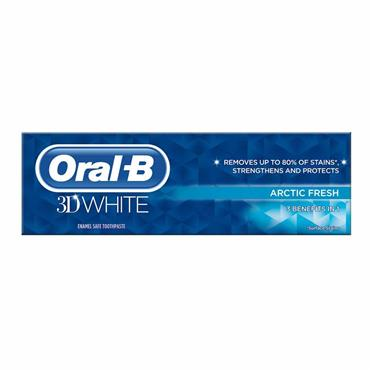 ORAL B 3D WHITE ARCTIC FRESH TOOTHPASTE
