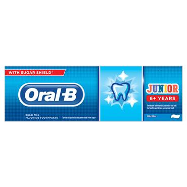 ORAL B JUNIOR TOOTHPASTE 6+ YEARS