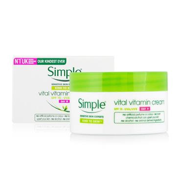 SIMPLE VITAL VITAMIN DAY CREAM 50ML