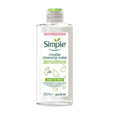 SIMPLE KIND TO SKIN FACE CLEANSING WATER