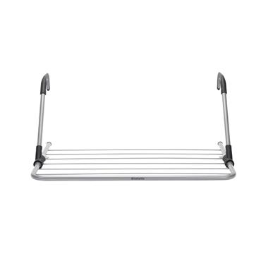 Hanging Drying Rack, 4.5m Metallic Grey