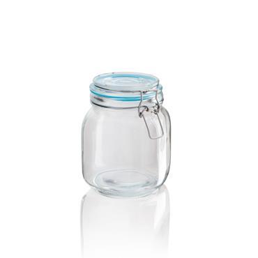 Glass Clip Pasta Jar 900ml