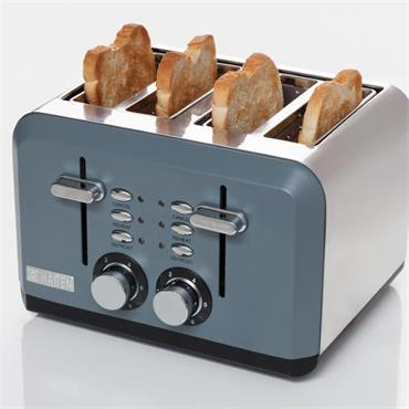 Haden Perth Sleek Gray Toaster