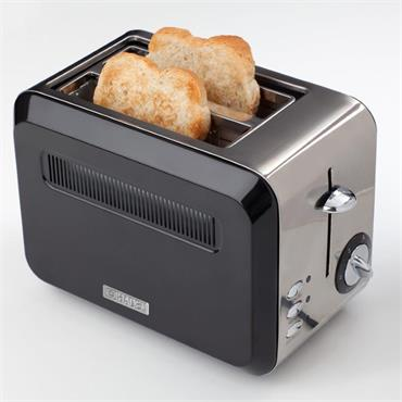 Haden Boston Black Pyramid Toaster
