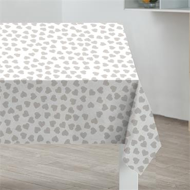 Hearts PVC Table Cloth