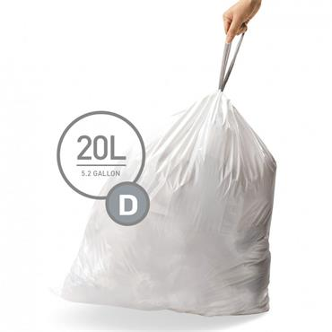 20L Liners - D - Pack of 20