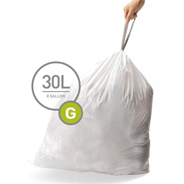 30L Liners - G - Pack of 40