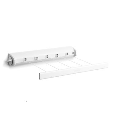 Pull-Out Clothes Line, 22m White
