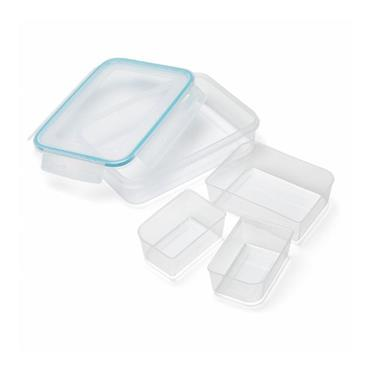 Clip & Close - 1.1L Rectangular with inserts