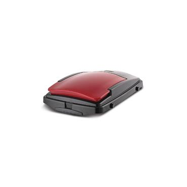 40 Litre Recycling Bin Lid (Red/Black)
