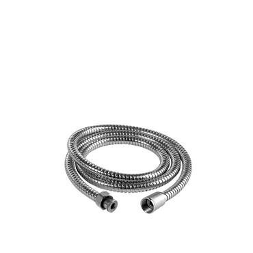 Sabichi Double Lock Shower Hose, Stainless-Steel, Silver, 1.5 m
