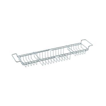Exendable bath tub rack