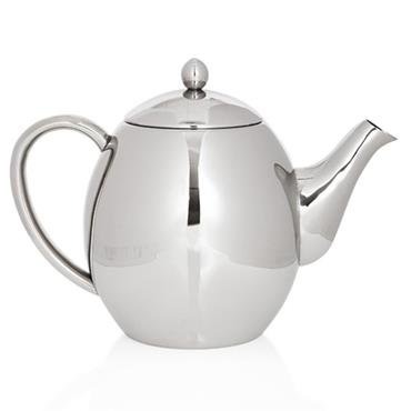 1200ml Double Wall Stainless Steel Teapot