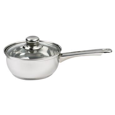 18cm Essential Saucepan With Glass Lid