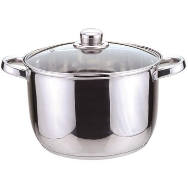 24cm Essential Stainless Steel Stock Pot