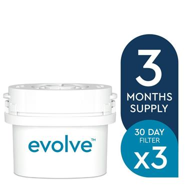 Aqua Optima Evolve 3 x 30 Day Water Filter Pack