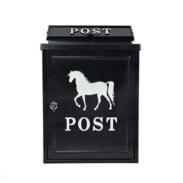 Postplus White Horse Diecast Post box