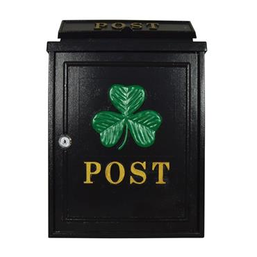 Shamrock Design - Diecast Post Box