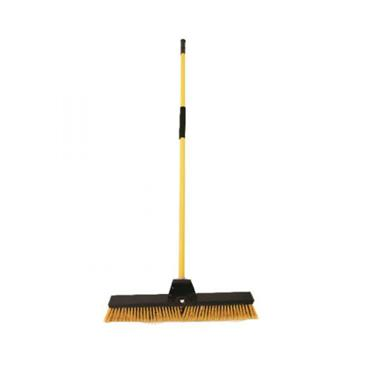 Heavy Duty Bulldozer Broom 24 Inch