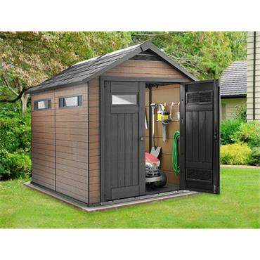 Keter Fusion Shed 7.5 x 9 FT
