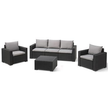 Keter Trofa 3 Seater Garden Sofa