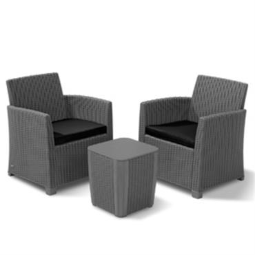 Keter Loana Furniture Set Grey