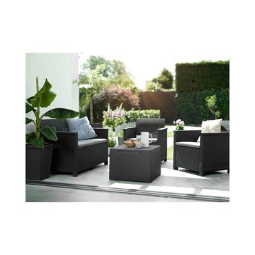 Keter Emma Lounge Set - Graphite