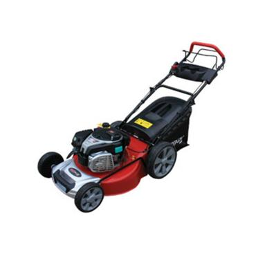 4in1 Self Propelled 53cm Steel Deck Petrol Mower 6hp B&S with PUSH BUTTON START
