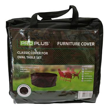 ProPlus Classic Cover for Oval Table Furniture Set