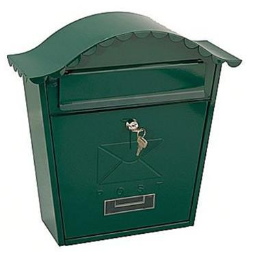 Traditional Post Box Green Gloss