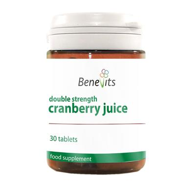BENEVITS DOUBLE STRENGTH CRANBERRY JUICE TABLETS 30S