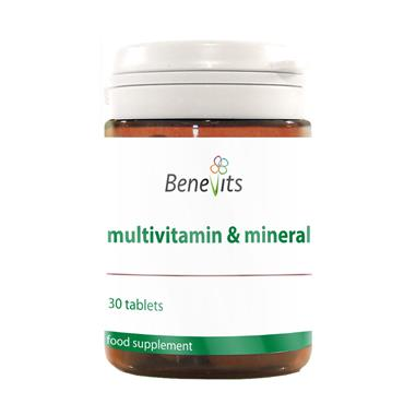 BENEVITS MULTIVITAMIN & MINERALS 30S