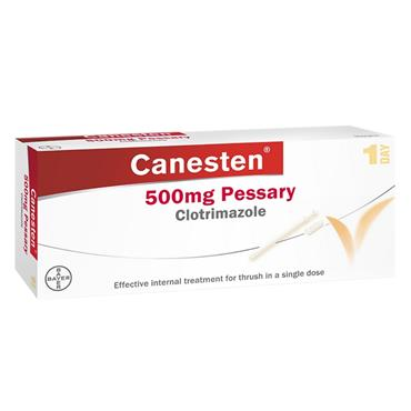 CANESTEN 500MG PESSARY