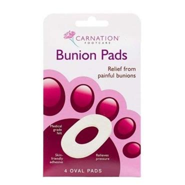CARNATION BUNION PADS 4 PACK