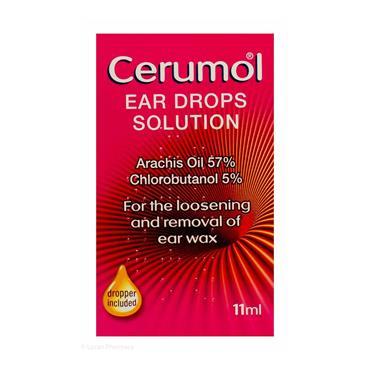 CERUMOL EAR DROPS 11ML (10ML)