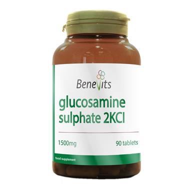 BENEVITS GLUCOSAMINE SULPHATE 1500MG 90S