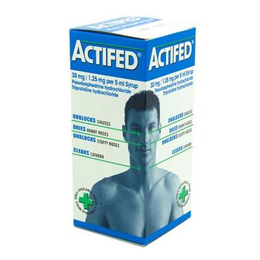 ACTIFED SYRUP 100ML