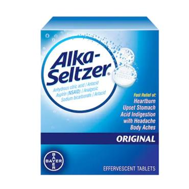 ALKA-SELTZER ORIGINAL 20 TABLETS