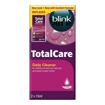 BLINK TOTAL CARE DAILY CLEANER 2x15ML