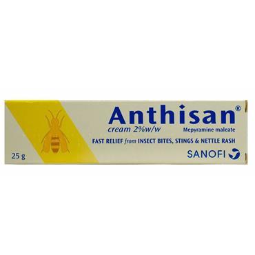 ANTHISAN CREAM 2% W/W 25G