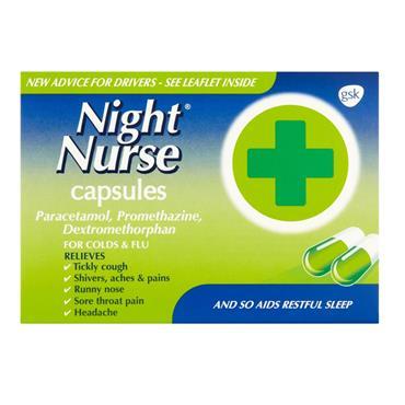 BEECHAMS NIGHT NURSE 10 CAPSULES
