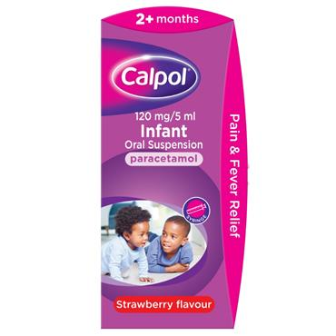 CALPOL 2+ MONTHS STRAWBERRY 140ML