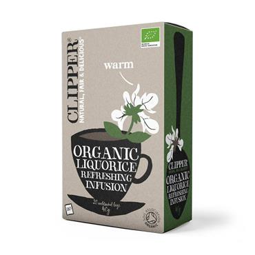 CLIPPER ORGANIC LICORIC TEABAGS 20S