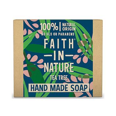 FAITH-IN-NATURE TEA TREE SOAP 100G