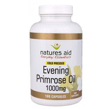 NATURES AID EVENING PRIMROSE OIL 1000MG 180S