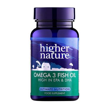 HIGHER NATURE OMEGA 3 180CAPS