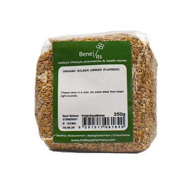 BENEVITS ORGANIC GOLDEN LINSEED 250
